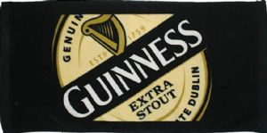 Guinness Label Cotton Bar Towel   (sg)